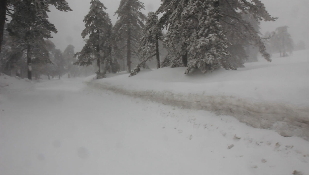Troodos winter 2012 video