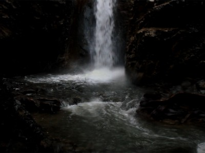 Millomeri waterfalls video